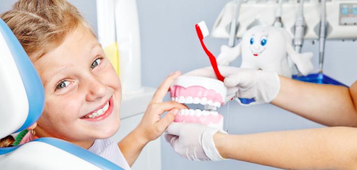 La importancia de que los niños acudan al dentista.