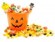 Caramelos en Halloween